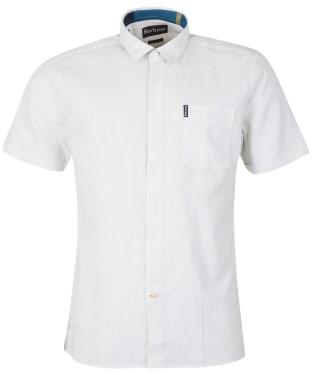 Men's Barbour Millom Shirt - Chalk