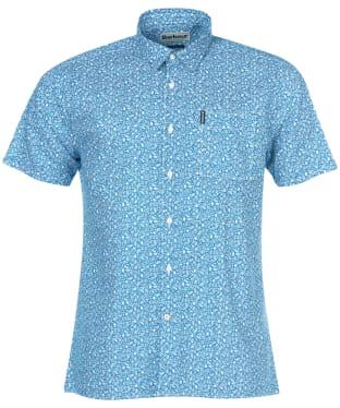Men's Barbour Summer Print 8 Shirt - Blue Print