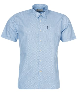 Men's Barbour Summer Print 9 S/S Shirt - Chambray
