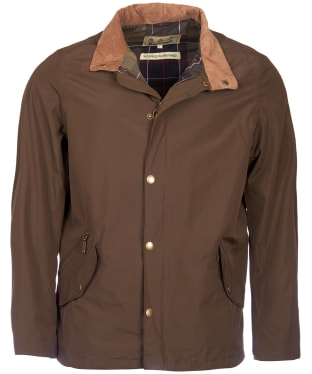 Men's Barbour Spoonbill Waterproof Jacket - Dark Olive