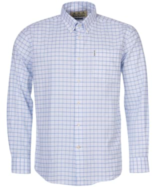 Men's Barbour Tattersall 23 Regular Fit Shirt - Blue