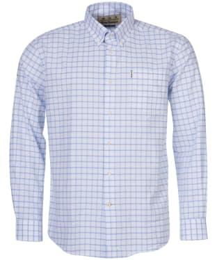 Men's Barbour Tattersall 23 Regular Fit Shirt - Blue