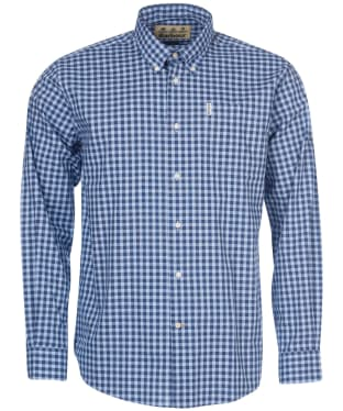 Men's Barbour Gingham 22 Regular Fit Shirt - Blue