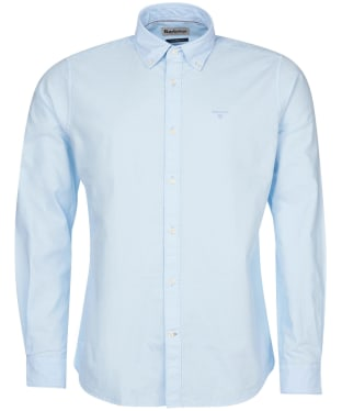 Men's Barbour Oxford 13 Tailored Shirt - Sky Blue