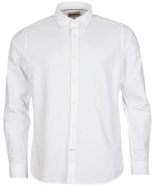 Men's Barbour Oxford 13 Tailored Shirt - White