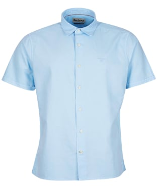 Men's Barbour Oxford 13 S/S Summer Shirt - Sky Blue