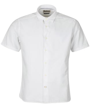 Men's Barbour Oxford 13 S/S Summer Shirt - White