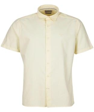 Men's Barbour Oxford 13 S/S Summer Shirt - Lemon