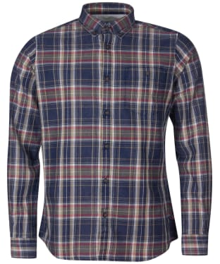 Men's Barbour International Steve McQueen Beck Shirt - Dark Petrol