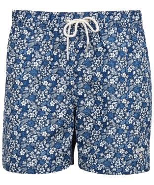 Men's Barbour Crescent Swim Shorts - Navy
