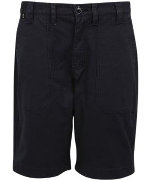 Men's Barbour International Patch Pocket Shorts - Black