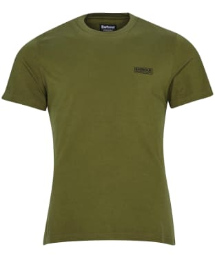 Men's Barbour International Small Logo Tee - Vintage Green