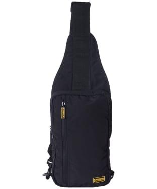 Men's Barbour International Sling Bag - Black