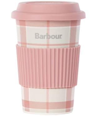 Barbour Tartan Travel Mug - Mist Tartan