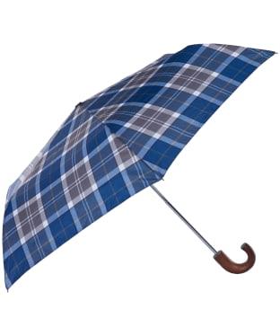 Barbour Tartan Mini Umbrella - Sage Tartan