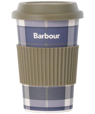 Barbour Tartan Travel Mug - Sage Tartan