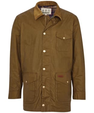 Men's Barbour Pavier Lightweight Waxed Jacket - Sand