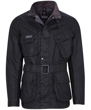 Men's Barbour International Lightweight SL International Wax - Black