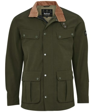 Men's Barbour International Summer Waterproof Duke Jacket - Sage