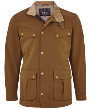 Men's Barbour International Summer Waterproof Duke Jacket - Dark Sand