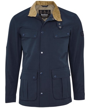 Men's Barbour International Summer Waterproof Duke Jacket - Navy