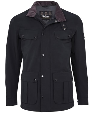 Men's Barbour International Summer Waterproof Duke Jacket - Black