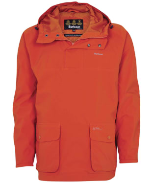 Men's Barbour Cragside Waterproof Jacket - Sunset Orange
