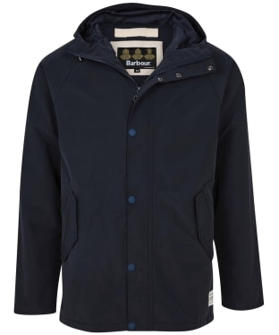 Men's Barbour Bobbin Waterproof Jacket - Navy