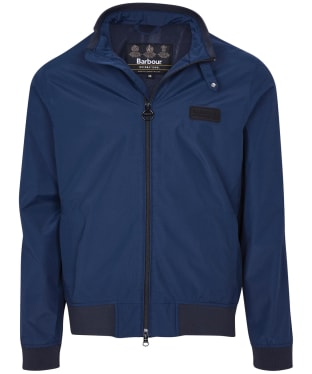 Men's Barbour International Dysart Waterproof Jacket - Navy