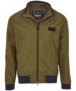 Men's Barbour International Dysart Waterproof Jacket - Army Green