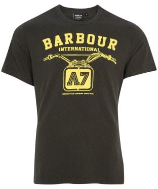Men's Barbour International Legendary A7 Tee - Forest