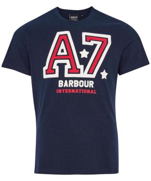 Men's Barbour International Legendary A7 Tee - Navy