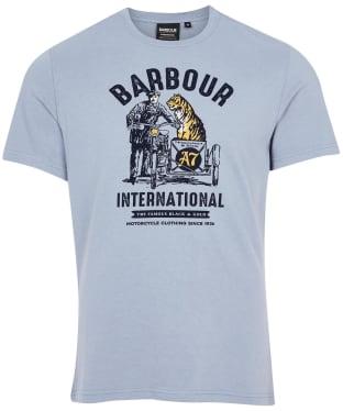 Men's Barbour International Legendary A7 Tee - Flint