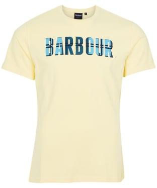 Men's Barbour Canlan Tee - Corn