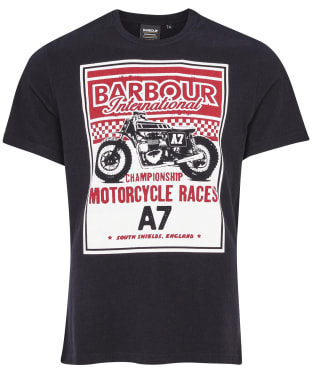 Men's Barbour International Legendary A7 Tee - Black