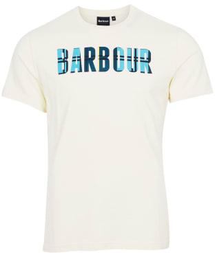 Men's Barbour Canlan Tee - Chalk