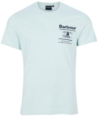 Men's Barbour Chanonry Tee - Surf Spray