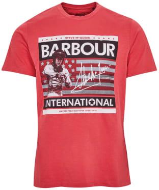 Men's Barbour International Steve McQueen Time Steve Tee
