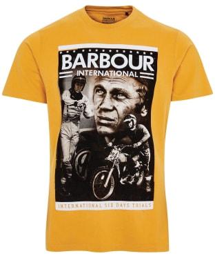 Men's Barbour International Steve McQueen Combo Tee - Harvest Gold