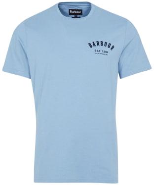 Men's Barbour Preppy Tee - Powder Blue