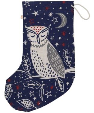 Women's Seasalt Jute Stocking - Sleepy Midnight Owl