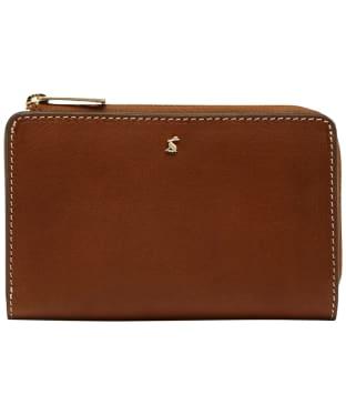 Women's Joules Langton Medium Leather Purse - Medium Tan