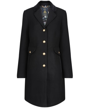 Women's Joules Windsor Hacking Coat - Black