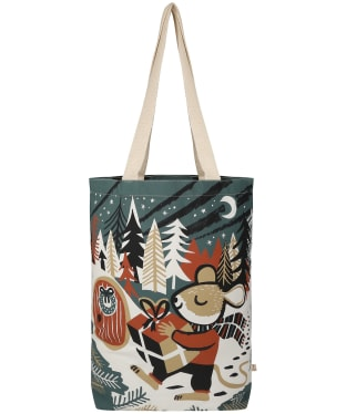 Seasalt Canvas Shopper - Christmas Mouse