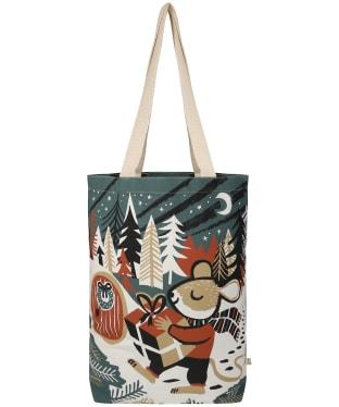 Seasalt Canvas Shopper - Christmas Mouse