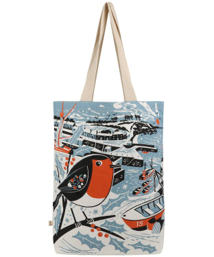 Seasalt Canvas Shopper - Charlestown Robin