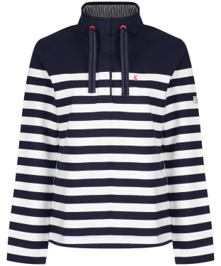 Women's Joules Saunton Sweatshirt - French Navy / Cream
