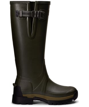Women's Hunter Balmoral Side Adjustable 3mm Neoprene Wellingtons - Dark Olive