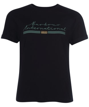 Women's Barbour International Drifting Tee - Black