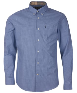 Men's Barbour Gingham 23 Tailored Shirt - Inky Blue